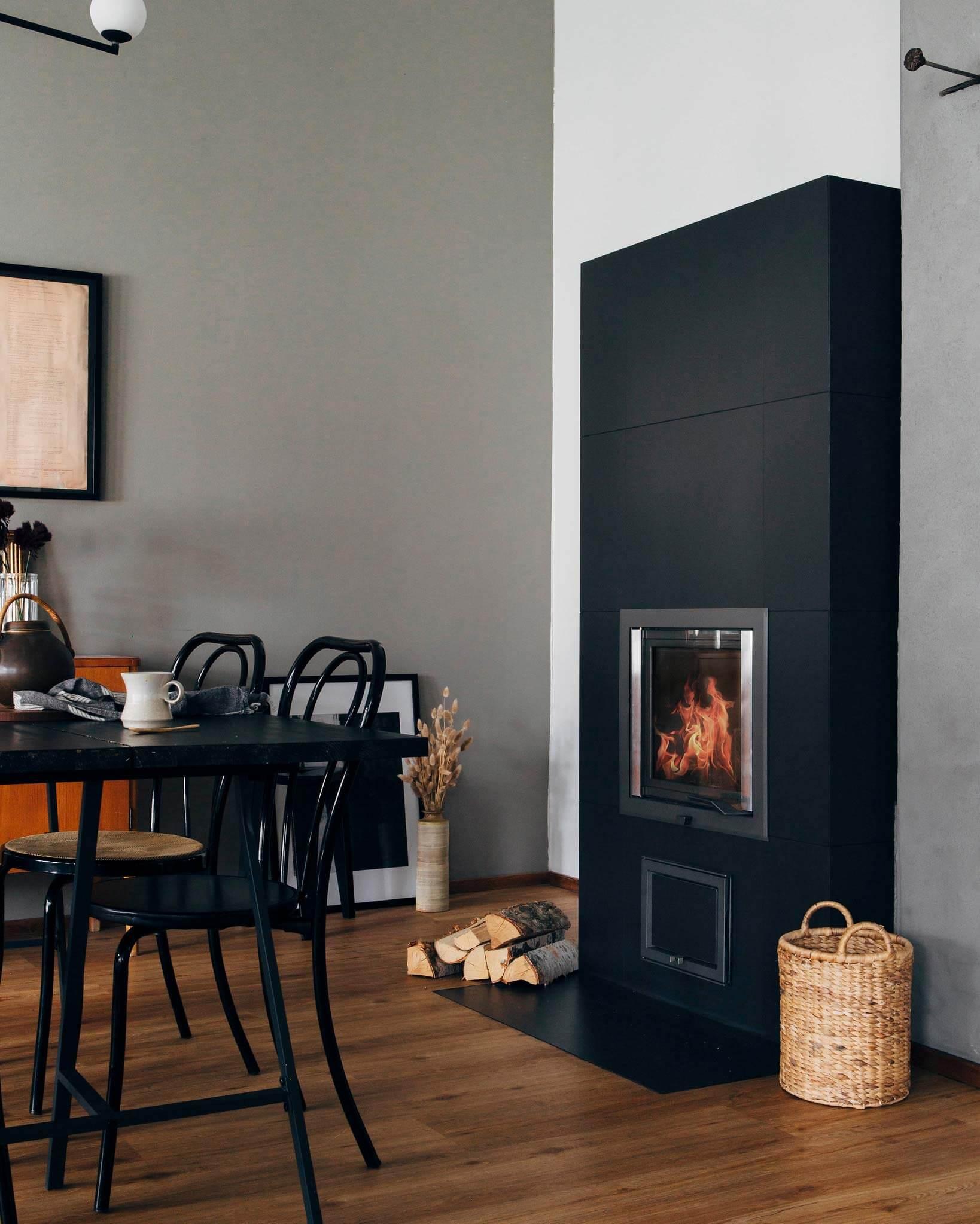NunnaUuni Blanka Ceramic Feuerstelle verleiht Ihrem Zuhause einen neuen Look